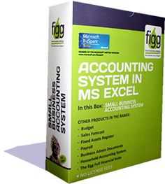 FIGG | Accounting System in MSExcel to give you control of your finances with a click of a mouse!