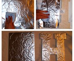 Hey! You forgot about ✰ALL✰ of those craft projects you can do with Mod Podge and foil! Like, using Mod Podge and aluminum foil to make a lamp shade! Or updating your wooden chest of drawers to make a fantastic look.. Don't have a Sizzix embossing machine? Aluminum foil can be embossed on anything! The possibilities are endless...