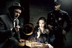 Alec Baldwin, Jennifer Connelly, Aaron Eckhart by Annie Leibovitz