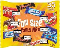 Fun size sweet syns slimming world astuce recette minceur girl world world recipes world snacks Slimming World Syns List, Slimming World Shopping List, Slimming World Sweets, Slimming World Survival, Slimming World Puddings, Slimming World Syn Values, Slimming World Diet Plan, Slimming World Recipes Syn Free, Shopping Lists