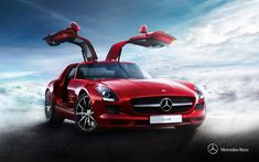 Mercedes-Benz SLS AMG. Fuel consumption combined: 13,2 l/100km, CO2 emissions combined: 308 g/km. #MBCars