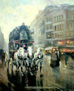 Paris Evening/Edouard Leon Cortes