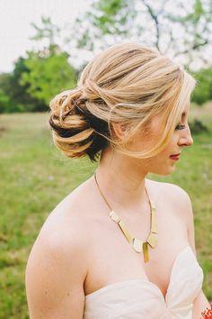 45 I Do-Worthy Wedding Hairdos via Brit   Co