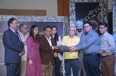 Ajay Shankar Memorial Silver Award for the Best Designed Stand in Fashion Jewellery Category was given to M/s H.K. R Creation, Mumbai and was received by Mr. Manish Mehta. — at India Expo Mart.