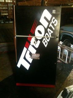 If you like boats and beer then you'll love this Triton Boats kegerator made by Lee S with Beverage Factory parts!