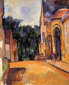 Farm at Montgeroult - Paul Cézanne - 1898