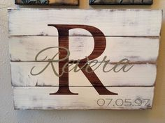 Reclaimed Distressed Pallet Wood Family by dashingdesignsfinds