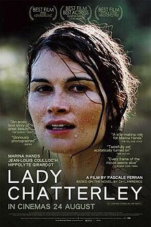 Lady Chatterley, 2006 French film by Pascale Ferran. Adaptation of novel John Thomas & Lady Jane (earlier version of Lady Chatterley's Lover, by D. Won 2007 César Award for Best Film & stars French actors Jean Louis Coullo'ch & Marina Hands. Films Cinema, Cinema Posters, Movie Posters, Cinema Paradisio, Movies To Watch, Good Movies, Dh Lawrence, The Image Movie, Kino Film