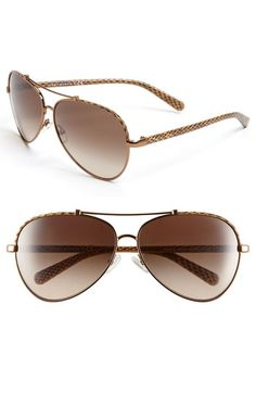 just bought these :) Tory Burch Aviator Sunglasses   Nordstrom