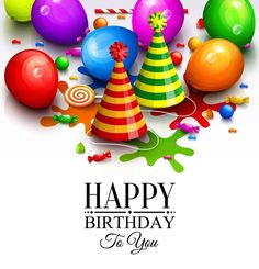 Find Happy Birthday Greeting Card Party Multicolored stock images in HD and millions of other royalty-free stock photos, illustrations and vectors in the Shutterstock collection. Short Happy Birthday Wishes, Happy Birthday Wishes Messages, Cute Happy Birthday, Birthday Card Sayings, Happy Birthday Jesus, Happy Birthday Pictures, Happy Birthday Greeting Card, Birthday Quotes, Happy Birthday Wallpaper