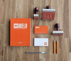 Weld  Identity, Print, Digital  IDENTITY  Weld is a collaborative creative space in the industrial district of Dallas, therefore the actual ...