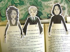"""These characters for the proud Slytherin: 