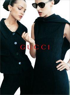 Gucci campaign S/S 1995 Photographer: Mario Testino