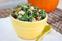 Butternut Squash & Spinach Salad