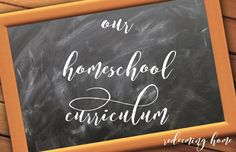 Hello, ladies! I've been meaning to finish up our curriculum post for the year for months now, but life has happened! We've been super busy while jumping into our new curriculum on th…