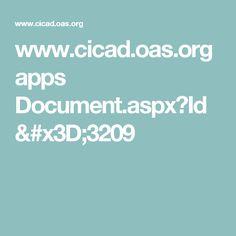 www.cicad.oas.org apps Document.aspx?Id=3209