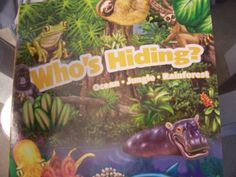 Who's Hiding? Ocean - Jungle - Rainforest. A Fun-flap Book (2011) Dalmatian Press LLC - Yard Sale Price: Part of $25.00 Bundle -  http://www.amazon.com/dp/140377529X/ref=cm_sw_r_pi_dp_gjy1tb0FT6V068NQ
