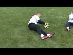 Soccer Goalkeeper Dive Training Part 1