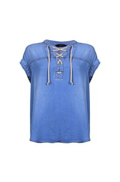 ST REMY LACE UP TOP