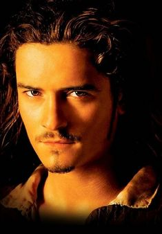 Orlando Bloom as Will Turner in Pirates, so hot!