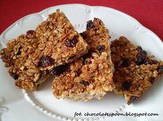 chocolate spoon: Domowe batony musli