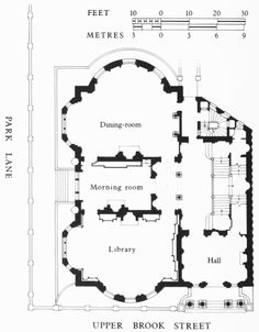 Floor Plan For A Country House England