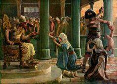 James Tissot - El Juicio de Salomón (1896-1902)