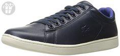 Lacoste Men's Carnaby Evo 316 1 Cam Fashion Sneaker, Navy, 13 M US (*Amazon Partner-Link)
