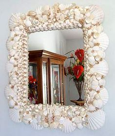 1000 Images About Seashell Mirrors On Pinterest Sea Shell Mirrors Shell Mirrors And Shells