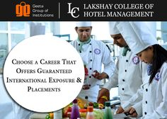 If you desire to get international placements and internship opportunities, then don't waste a single moment to book your seat at #LakshayCollegeofhotelManagement. Visit: http://www.lchm.lakshay.edu.in or call- 98964-13400, +91-99960-51000 for details.