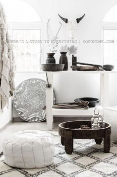 Home decor and Furniture - Zoco Home is specialized in home decoration, Furniture and Interior design Services. Whether you are decorating your home, restaurant or hotel. Modern Moroccan, Moroccan Pouf, Moroccan Decor, Cafe Interior, Decor Interior Design, Interior Decorating, Moroccan Interiors, Rustic Interiors, Bohemian Interior