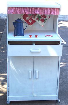 play kitchen from microwave cart