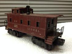 VTG Lionel 'O' 6356 SP Lighted Caboose #Lionel
