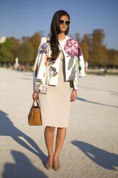 Stella McCartney floral jacket