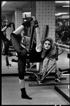 Madonna was always addicted to fitness