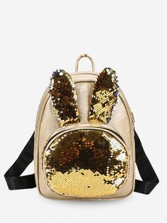 Backpacks for Women Fashion Sequin Backpack, Leather Backpack, Mini Backpack, Leather Bags, Unique Handbags, Cheap Handbags, Fashion Bags, Fashion Backpack, Womens Fashion