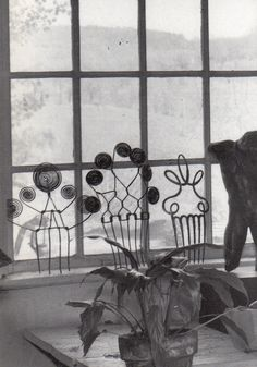 Combs, Alexander Calder made for his wife