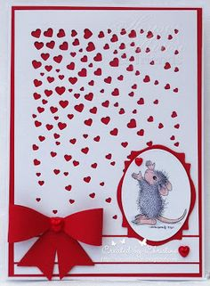 House-Mouse & Friends Monday Challenge, HMFMC, House-Moue Designs, Love, Anniversary, Wedding, Valentine's Day