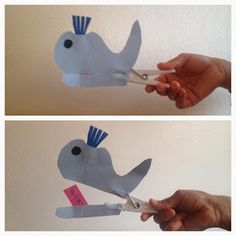Islam From The Start: Clothes peg whale craft Craft Projects For Kids, Diy For Kids, Activities For Kids, Learning Activities, Kids Learning, Craft Ideas, Whale Crafts, Islam For Kids, Kids Pages