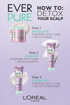 Detox Shampoo, Mint Shampoo, Curly Hair Styles, Natural Hair Styles, Haircuts, Hairstyles, Advanced Hair, Glow Up Tips, Hair Supplies