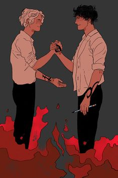 Matthew and James Parabatai ceremony. Art by Cassandra Jean. Cassandra Jean, Cassandra Clare Shadowhunters, Livros Cassandra Clare, Cassandra Clare Books, Fanart, Clary And Jace, Clary Fray, Jace Lightwood, Divergent Funny