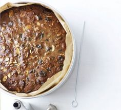 As you like it Christmas cake. Use your choice of dried fruit, nuts, citrus zest and booze (or even tea) and get your cake made up to six months in advance Xmas Food, Christmas Cooking, As You Like, Just In Case, Bbc Good Food Recipes, Cooking Recipes, Kitchen Recipes, Rhubarb Cake, How To Make Cake