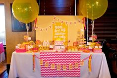 You Are My Sunshine Birthday Party Ideas | Photo 2 of 79