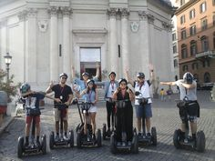 The Best fun is on Segway! Book now our Rome Tour! #rome #segway #tour