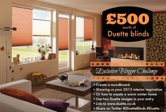 Give us your inspiration and you could win £500 worth of Duette Blinds
