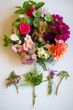 Mother's Day corsages 7 ways - Naked Bouquet