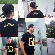 #Shoutout to @josephleeemerson sporting our #golddeeds Da Bars #shirt #lifestyle #fashion #goldfromday1 #gd www.golddeeds.com