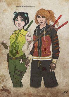 "Disney The Walking Dead   Tigress and Viper - ""Kung Fu Panda"""