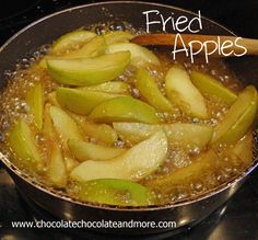 Fried Apples-fried up southern style!