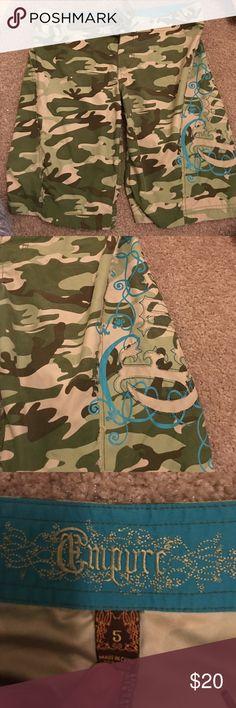 Camo Boardshorts! Super cute!! Perfect Condition! Swim Coverups
